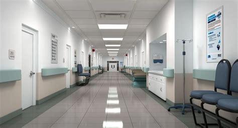 hospital hallway  cgtrader
