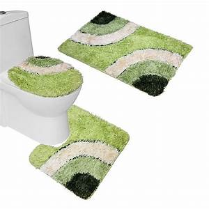 3 bathroom rug sets - 28 images - washable fleece