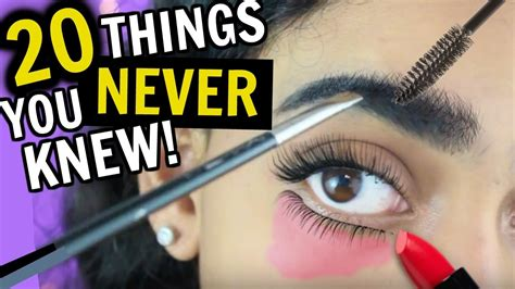 20 Things You Never Knew About Makeup & Hair!! Doovi