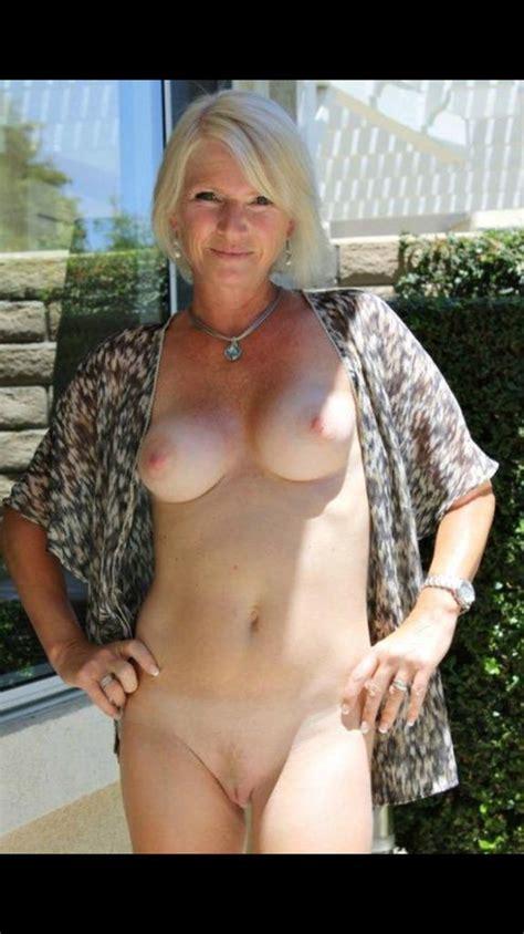 Sexy Grey Hair Naked Women Photo Erotica