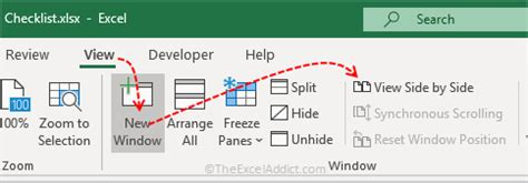 microsoft excel tips view  worksheets