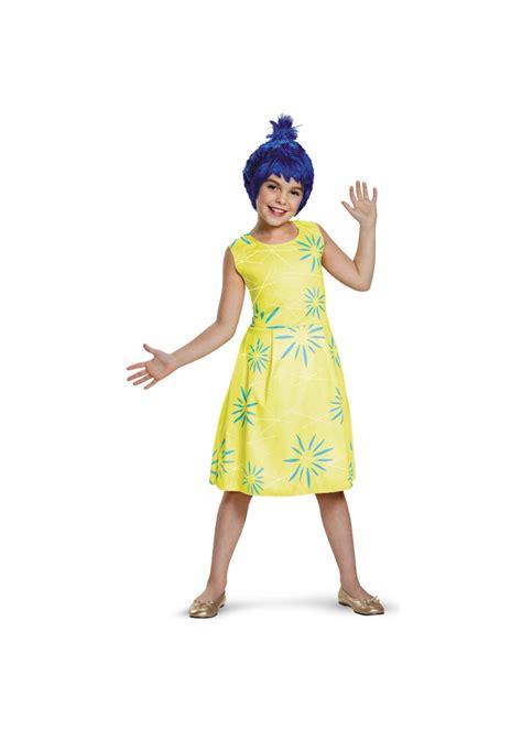Disney Inside Out Joy Girls Costume Disney Costumes