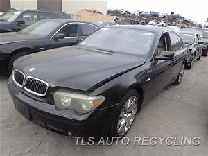 Parting Out 2004 Bmw 745i - Stock - 6358bl