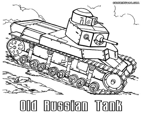 tank coloring pages coloring pages    print