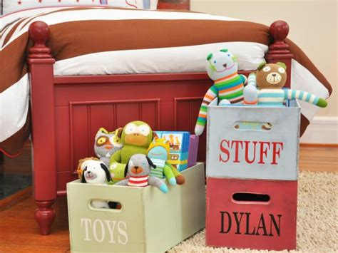 Smart Storage For Kids' Rooms