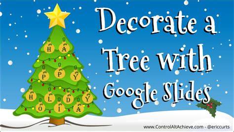 decorate  christmas tree  google  tech learning