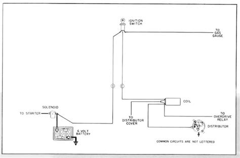 1997 Chrysler Distributor Wiring Schematic by Ignition Circuit Diagram For The 1955 Hudson 6 Cylinder