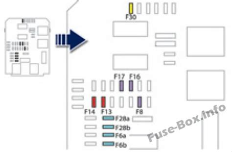Peugeot 508 Fuse Box by Fuse Box Diagram Gt Peugeot 508 2011 2017