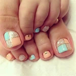Cute pretty toe nail art designs noted list