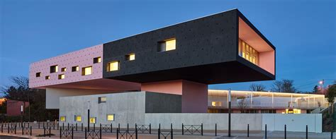 Dominique Coulon Stacks Montpellier School Complex In France