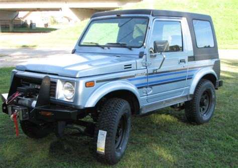 Suzuki Samurai Accessories by 1988 5 Suzuki Samurai 4x4 Suv Removable Hardtop Calmini