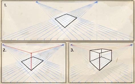 Perspektivisch Zeichnen Lernen by Perspektivisch Zeichnen Mit Zwei Fluchtpunkten Werkstatt