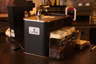 Although starbucks' coffee is most commonly regarded as being burnt and ordinary, the coffee chain sees their potential far beyond that. Clover Coffee Machine   A rare and very cool Clover machine …   Flickr