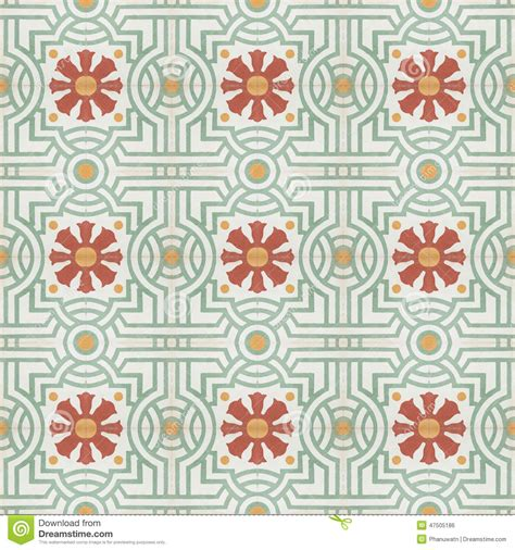 floor ls vintage style vintage style floor tile pattern texture stock photo image 47505186