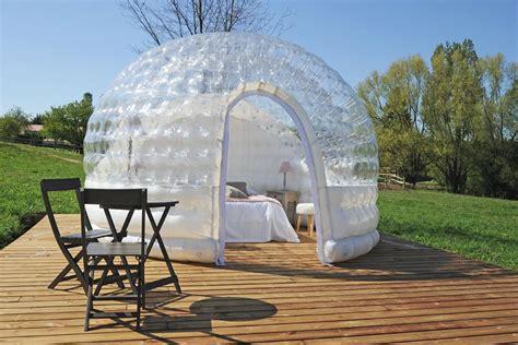 chambre bulle dans la nature chambre bulle une nuit insolite en isère domaine de suzel