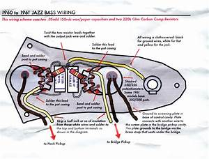 Bass Guitar Wiring Diagram 2 Pickups  U2013 Volovets Info