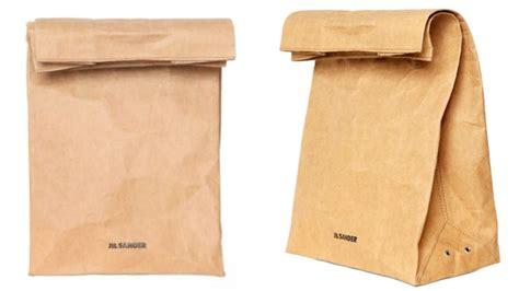 Why Did Jil Sander Make A 0 Paper Bag?