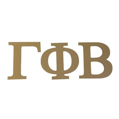 gamma phi beta letters gamma phi beta 7 5 quot unfinished wood letter set ebay