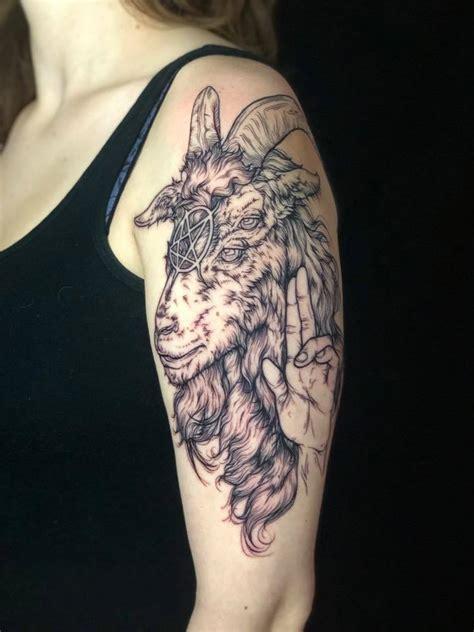 baphomet  jordan  papermoon tattoo  state college
