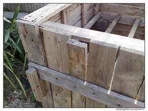 Construire Un établi En Bois : construire un composteur gratuit en bois de palette se ~ Premium-room.com Idées de Décoration