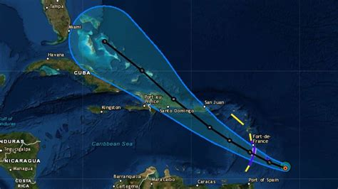 tropical storm dorian menaces barbados