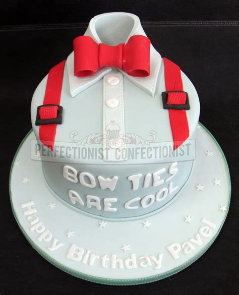 bow tie cake the perfectionist confectionist dr who