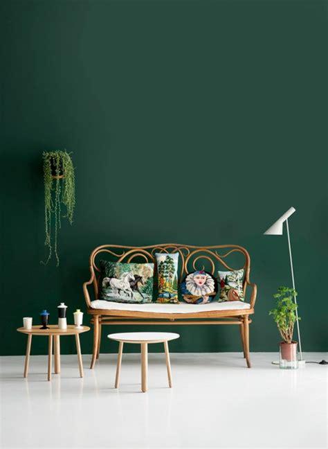 Dunkle Wandfarbe by Gr 252 Ne Wandfarbe Erreichen Sie Dadurch Eine Trendige
