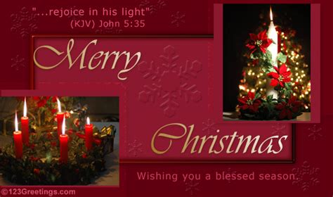 joyful christmas  religious blessings ecards greeting cards