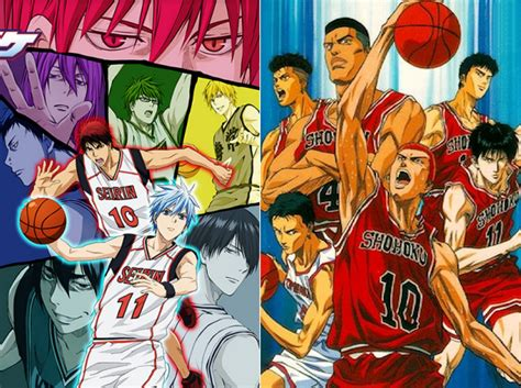 anime terbaik jump dua anime basket terbaik slam dunk vs kuroko no basket