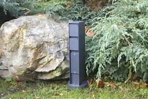 Steckdose Garten Wasserdicht : steckdose garten steckdosensaule garten anthrazit gymmitolaf ~ Orissabook.com Haus und Dekorationen
