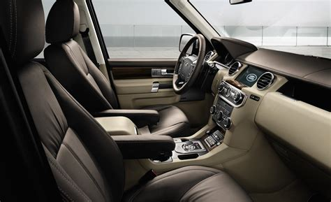 land rover lr4 interior car and driver
