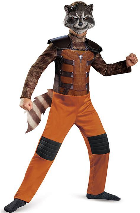 rocket raccoon classic child costume purecostumescom