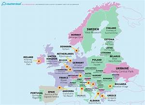 This Really Cool Map Shows The World's Top Tourist Destinations