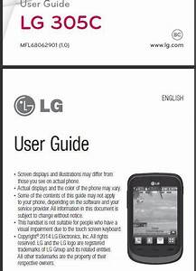 Tracfone Lg 305c User Manual    Guide