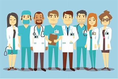 Doctor Choosing Health Medical Things Call