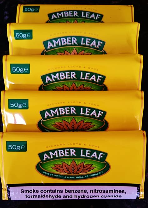 amber leaf  tabak drehtabak zigaretten zigarren