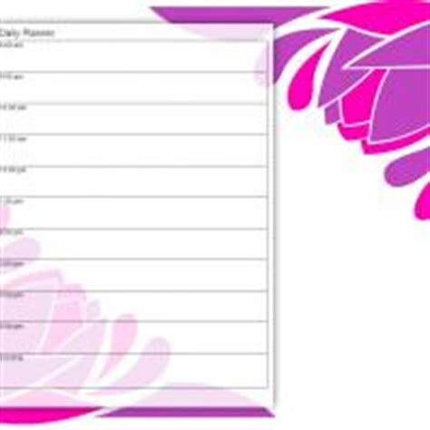 pretty petals daily planner