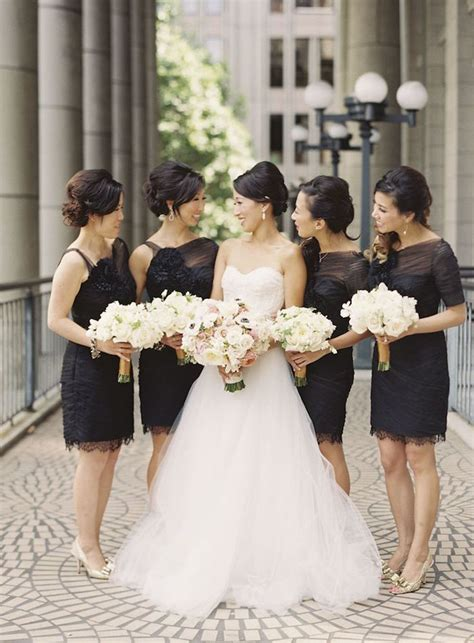 black tie wedding ideas that dazzle modwedding