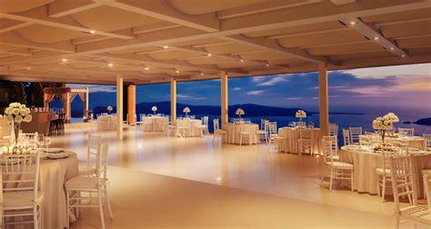 Arch Decorations For Weddings by Restaurant Le Ciel Exclusive Weddings In Santorini