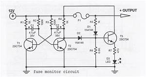Fuse Monitor Circuit