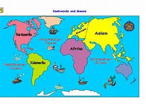 Weltkarte Kontinente Kinder : grundschule sachkunde ii die erde der mensch natur technik u v m die kontinente und die ~ A.2002-acura-tl-radio.info Haus und Dekorationen