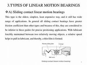 Linear Motion Guideways