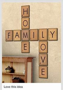 how to make giant scrabble tile table numbers letter With scrabble letters home decor