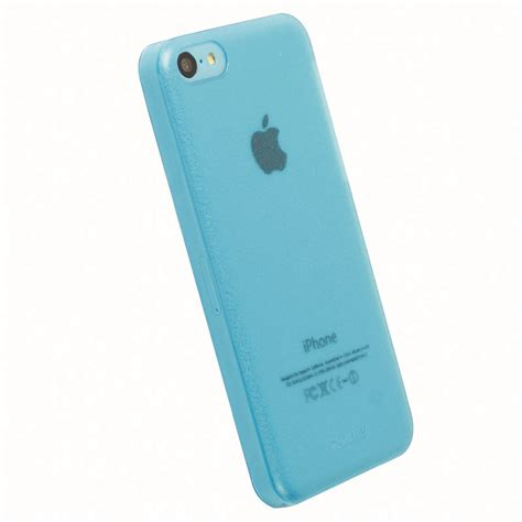 iphone 5c blue krusell 89908 frostcover for apple iphone 5c