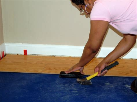 floating installation how to install a laminate floating floor how tos diy