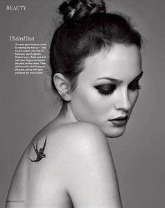 Leighton Meester by Christophe Meimoon for Marie Claire UK ...