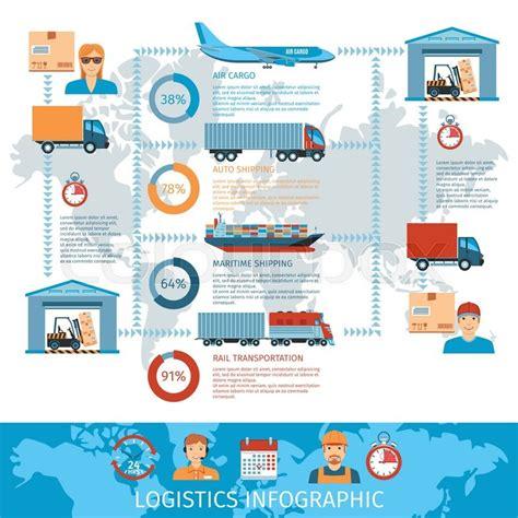 logistic  transportation stock vector colourbox