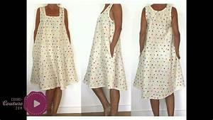 cours de couture robe pour femme tuto de couture youtube With patron robe été