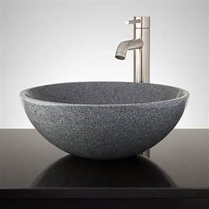 Polished, Granite, Vessel, Sink