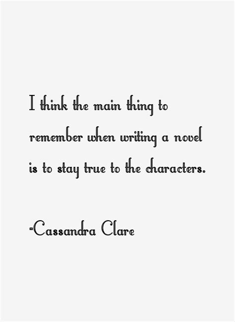 Cassandra Clare Quotes & Sayings